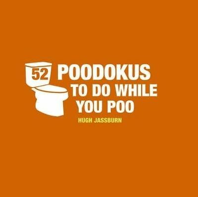 52 PooDokus to Do While You Poo, Jassburn, Hugh, Very Good Book