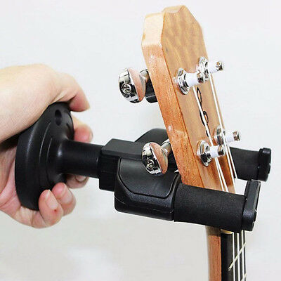 Electric Guitar Hanger Holder Rack Hook Wall Mount for All Size Guitar Set WL