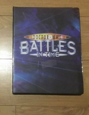 Doctor Who Battles In Time Cards 320 Cards In Folder