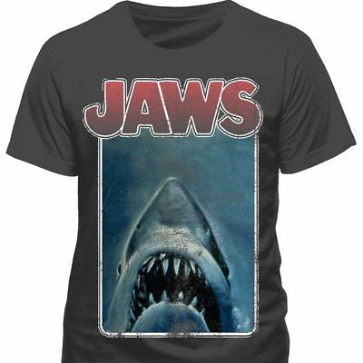 Jaws - Vintage Poster T Shirt - NEW & OFFICIAL