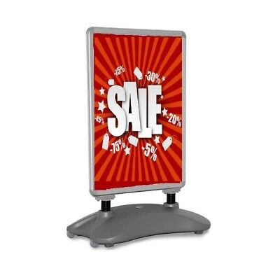 A1 Waterbase Pavement Poster Stand Sign A-Board Snap Frame Shop Display