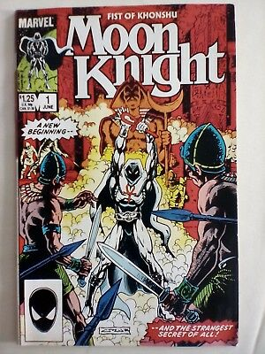 Moon Knight #1 (Vol 2) Marvel 1985 1st App New Costume VERY FINE CONDITION