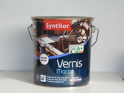Vernis marin syntilor incolore brillant 2,5L