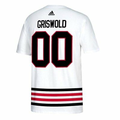 87af670b0 adidas Clark Griswold Chicago Blackhawks  00 Men s Christmas Vacation  Player.