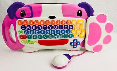 Leap Frog Click Start My First Computer - Replacement Keyboard Only - Pink FRSH