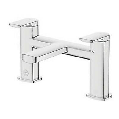 WATERSMITH HERITAGE THAMES BASIN MONO MIXER TAP WITH CLICKER WASTE £32.99