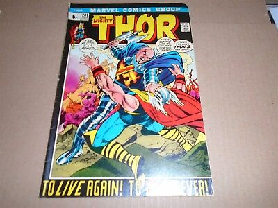 THE MIGHTY THOR #201 Marvel Comics 1972 FN+