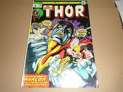 THE MIGHTY THOR #220 Marvel Comics 1974 FN