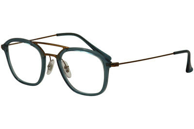 c9f8281e83 Ray Ban Men s Eyeglasses RB7098 RB 7098 RayBan 5632 Turquoise Optical Frame  48mm