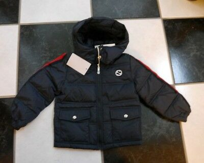 ac9264ea7ff NWT 100% AUTH Gucci Baby Boy Quilted Water Proof Nylon Down Jacket 18 24