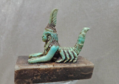 Rare Ancient Egypt Serket Goddess Of Protection Egyptian Antique Scorpion Statue