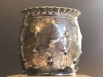 Antique WILCOX SILVERPLATE CO Aesthetic Movement ART NOUVEAU Vase BOWL 1867-1898