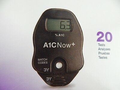 A1CNow+ System Monitor PTS Diagnostic w/ 19 Test Kits EXPIRED 11/2016 FREE SHIP