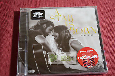A Star Is Born Soundtrack By Lady Gaga Bradley Cooper CD 2018, Target Exclusive