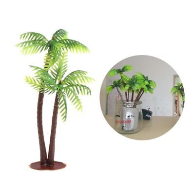 Mini Scenery Landscape Model Simulation Coconut Palms Tree Home Decor Ornaments
