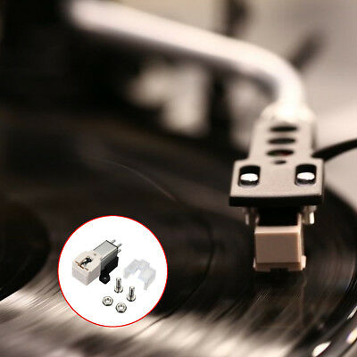 Dynamic Magnetic Needle Stylus Turntable Headshell For LP Record Player  AU