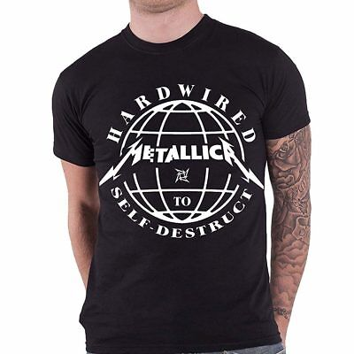 Metallica - Hardwired To Self Destruct T Shirt Size:L - NEW & OFFICIAL