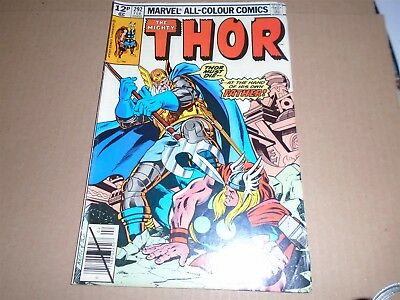 THE MIGHTY THOR #292 Marvel Comics 1979 FN+