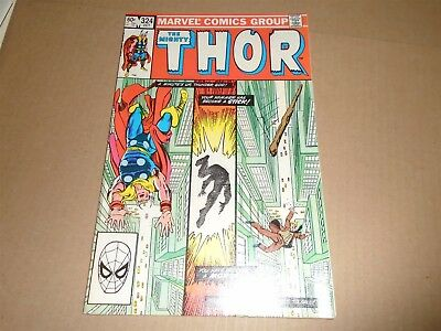 THE MIGHTY THOR #324 Marvel Comics 1982 VF/NM