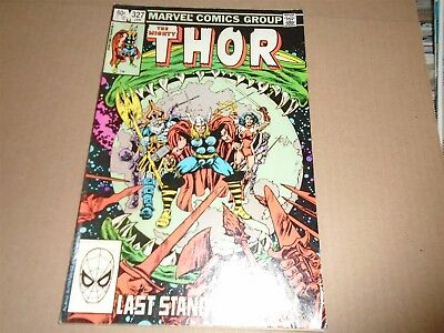 THE MIGHTY THOR #327 Marvel Comics 1983 FN