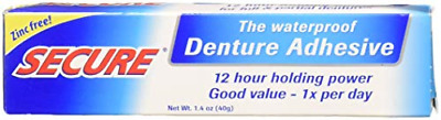 Secure Strong Waterproof Dental Bonding Adhesive Oral Denture Cream Mouth Gums