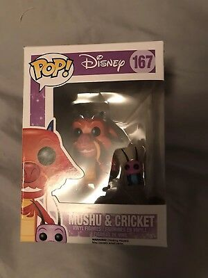 Funko Pop Disney: Mulan - Mushu and Cricket Vinyl Figure #167