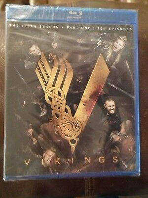 Vikings: Season 5, Vol. 1 (Blu-ray Disc, 2018) Brand New