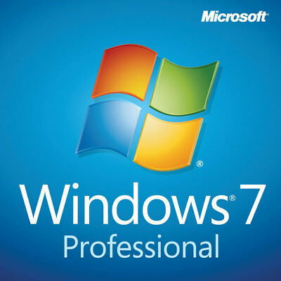 Windows 7 Professional Pro 32/64 Bit Iso Digital Download (No Product Key)
