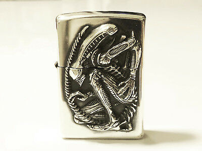ZIPPO Limited Edition ALIEN 20th Anniversary Giger Xenomorph Lighter No.2430