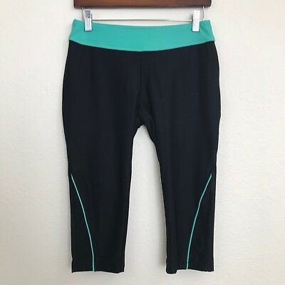 ee4e2ec97043b Womens Small S Avia Workout Athletic Running Gym Yoga Cropped Capri Pants