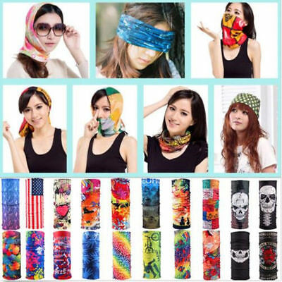 Cycling Bicycle Outdoor Sport Head Shawl Scarf Magic Headband Unisex Face Mask