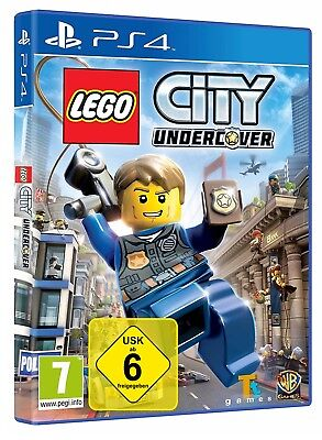 PS 4 Spiel  Lego City Undercover Playstation 4 Neu OVP