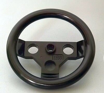 4125213 No BLACK 1 x NEW LEGO TECHNIC LARGE STEERING WHEEL