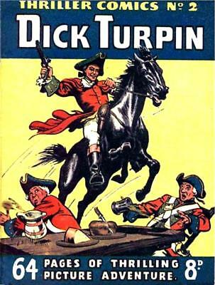 THRILLER COMICS / PICTURE LIBRARY No.2 - DICK TURPIN  Facsimile