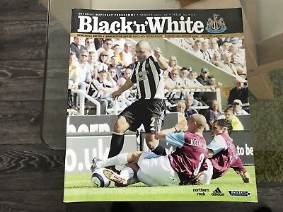 Newcastle United V Manchester United. August 2005. Match Programme.