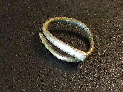 Rare Superb ancient British Celtic gold ring money