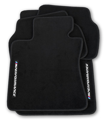Bmw M Performance Floor Mats Black LHD All Weather Waterproof 4 Tailored Carpet