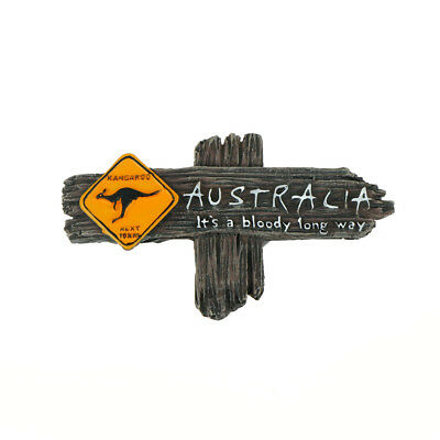 tourist souvenir resin 3d fridge magnet kangaroo australia travel gifts ESUS WL