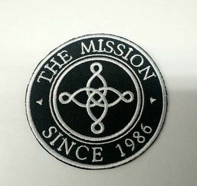 The Mission Patch Embroidered Iron/Sew on Delivery Worldwide Sisters of Mercy