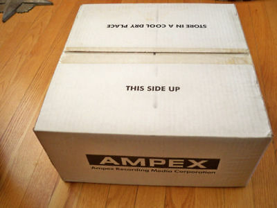NEW!!! 40 Sealed Ampex 631 Professional Audio Tape on 7-in. Reels