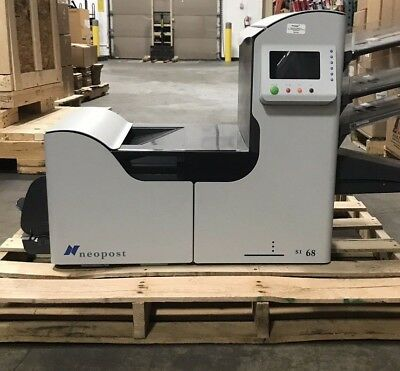 2002 Neopost SI-68 Folding Inserting Machine with three trays included