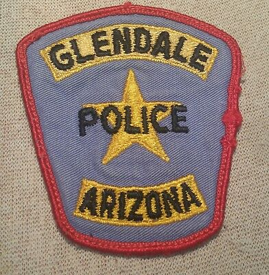 AZ Glendale Arizona Police Patch