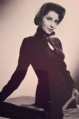 Elizabeth Taylor Actress Young Iconic A4 Poster Picture Print A4 Wall Art 3