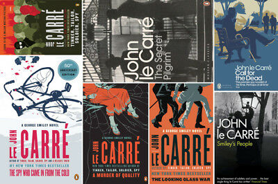 John Le Carre Audiobook Collection - Smiley 1-9 - MP3 DVD