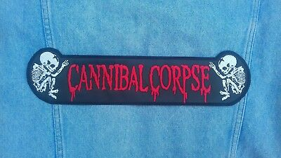 Cannibal Corpse embroidered logo back patch death metal morbid angel napalm