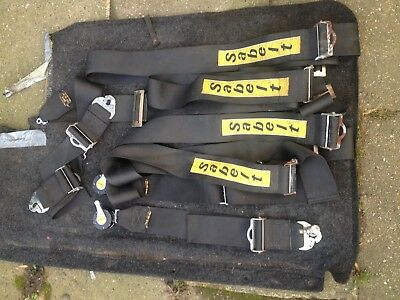 Sabelt 4 Point Seat Belt Race Harness X2