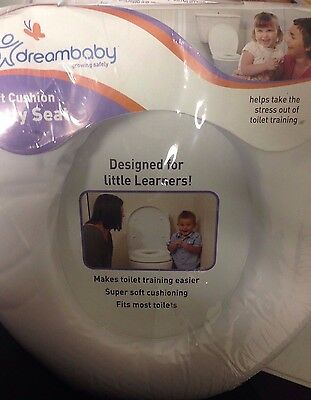 04a77b91c27 NEW DREAMBABY SOFT Touch Potty Seat White FREE SHIPPING -  25.94 ...