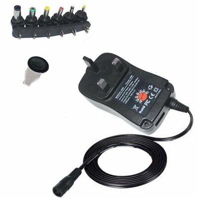 30W Universal 3-12V Adjustable AC/DC Power Adapter USB Charger 2.1A Power Supply
