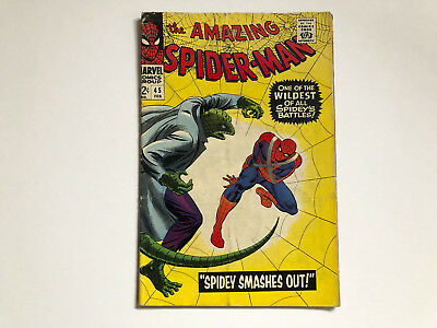 Marvel Comics Amazing Spiderman #45 Silver Age
