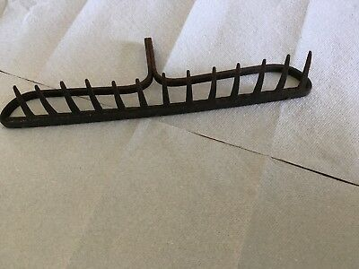 Antique Vintage Heavy Duty Garden Rake Head Primitive